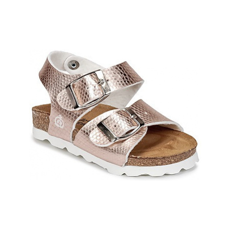 Citrouille et Compagnie RELUNE girls's Children's Sandals in Gold