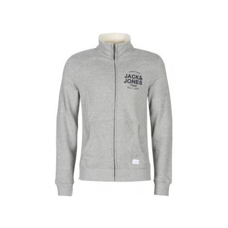 Jack Jones JORUPTON men's Sweatshirt in Grey Jack & Jones