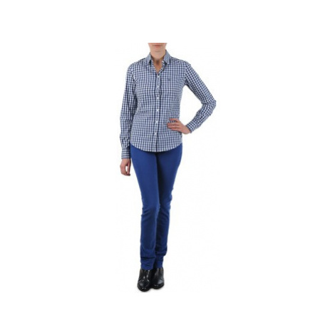 Gant N.Y. KATE COLORFUL TWILL PANT women's Jeans in Blue
