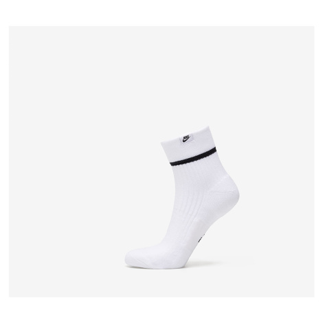 Nike Sneaker Essential Ankle Sox 2 Pair White/ Black/ Black