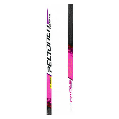 Peltonen NANOGRIP FACILE W NIS+PERFORM CL - Women's classic skis with uphill travel support