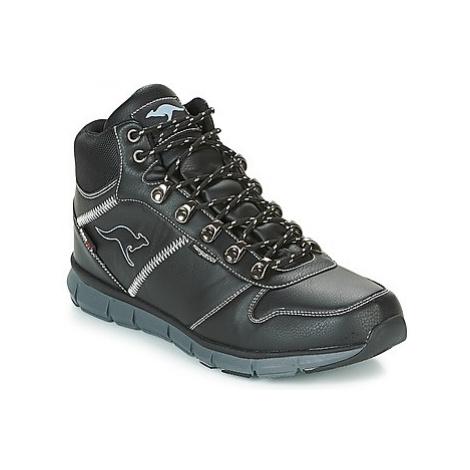 Kangaroos K BLUE RUN 8023 men's Mid Boots in Black