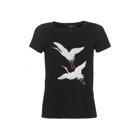 Vero Moda VMJUSTINE women's T shirt in Black