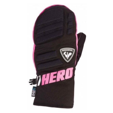Rossignol JR RACE IMPR M black - Children's ski gloves