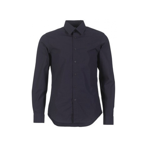 G-Star Raw CORE SHIRT men's Long sleeved Shirt in Blue