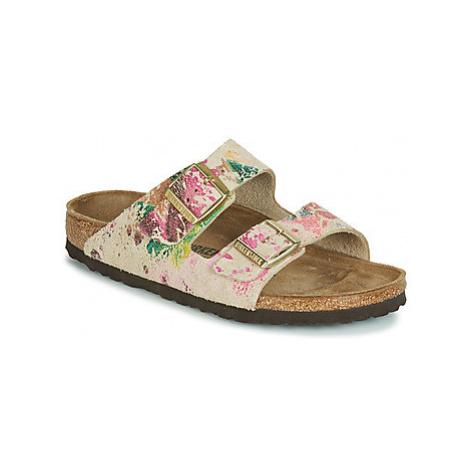 Birkenstock ARIZONA women's Mules / Casual Shoes in Beige