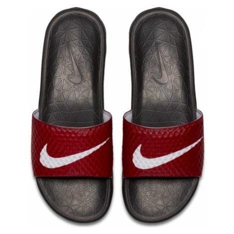 Nike Benassi Solarsoft Soccer Sandals Red