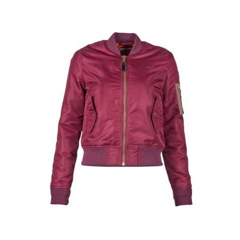 Schott BOMBER BY SCHOTT women's Jacket in Bordeaux Schott NYC