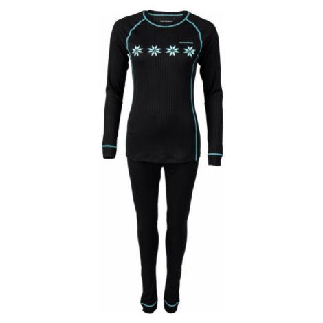 Arcore KHLOE black - Women's thermal underwear set