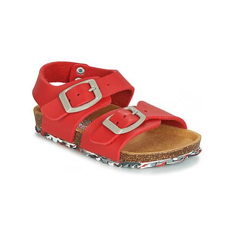 Garvalin BIO BOY girls's Children's Sandals in Red Garvalín