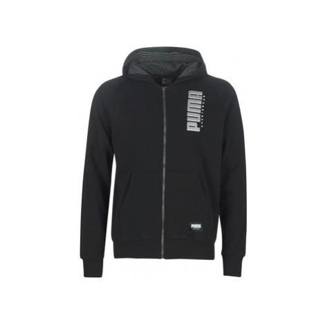 Puma FD OP TOP ATH FZ HOODY men's Sweatshirt in Black