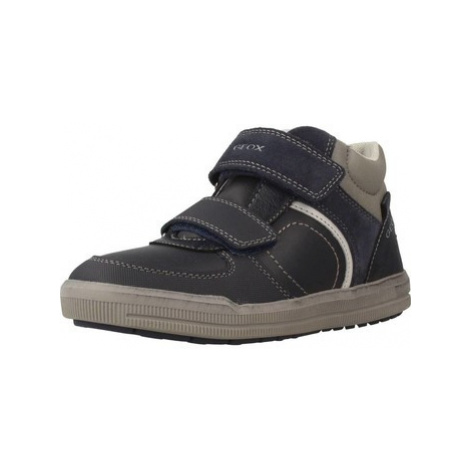 Geox J ARZACH B.B boys's Children's Shoes (High-top Trainers) in Blue