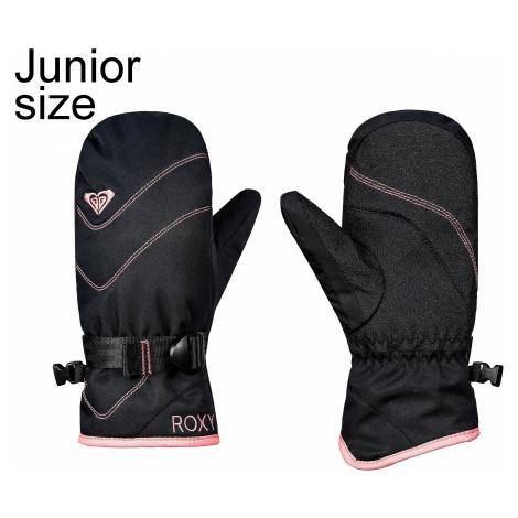 glove Roxy Jetty Solid Mitt - KVJ0/True Black - girl´s