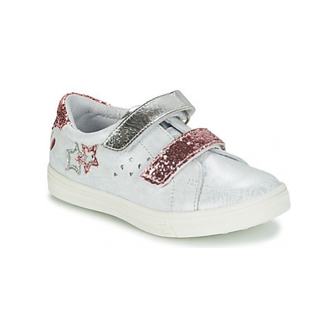 GBB SANDRA girls's Children's Shoes (Trainers) in White