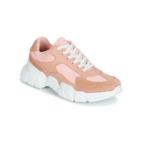 Yurban JILIBELLE women's Shoes (Trainers) in Pink