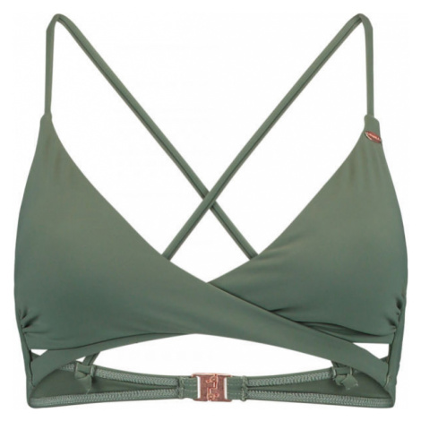 O'Neill PW BAAY MIX BIKINI TOP green - Women's swim top