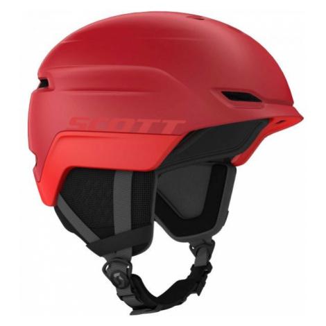 Scott CHASE 2 HELMET PLUS red - Ski helmet