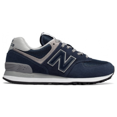 New Balance 574 Core Shoes - Navy/White