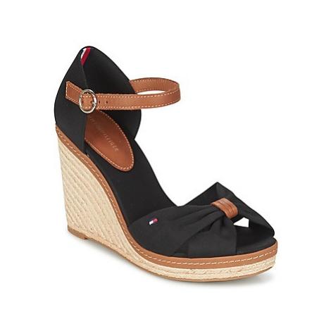 Tommy Hilfiger ELENA 56D women's Sandals in Black