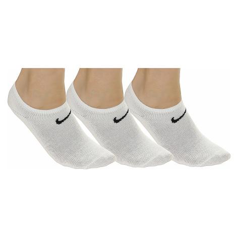 socks Nike Value No Show 3 Pack - 101/White/Black