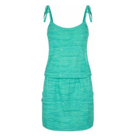 Loap BAMA green - Women's dress