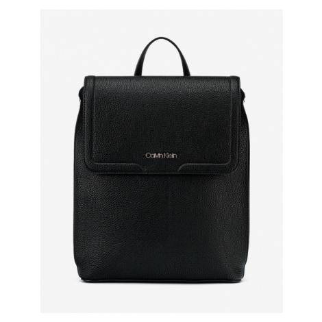 Calvin Klein Flap Backpack Black