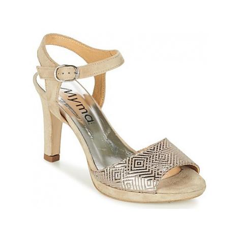 Myma CRETA women's Sandals in Beige