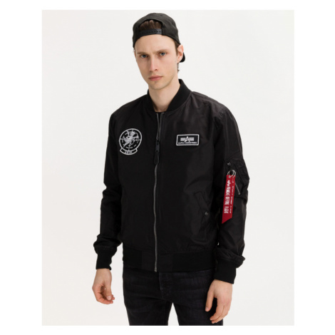 Alpha Industries Glow In The Dark Jacket Black