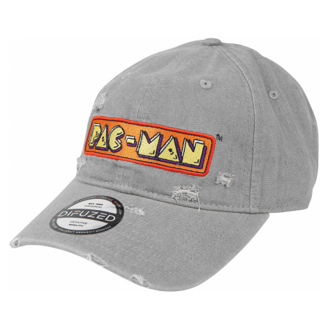 Pac-Man - Emblem - Baseball cap - grey