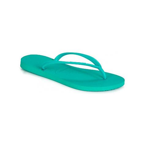 Havaianas SLIM women's Flip flops / Sandals (Shoes) in Green