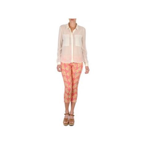 Manoush PANTALON GIPSY JEANS women's Cropped trousers in Pink