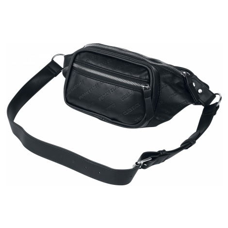 Urban Classics - Imitation Leather Shoulder Bag - Shoulder bag - black