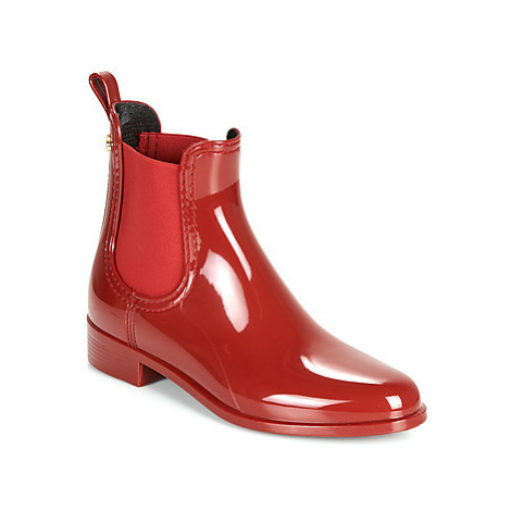 Lemon Jelly COMFY women's Wellington Boots in Red