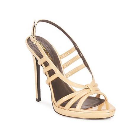 Roberto Cavalli QDS626-PL028 women's Sandals in Beige