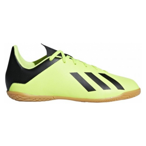 adidas X TANGO 18.4 IN J black - Kids' indoor shoes