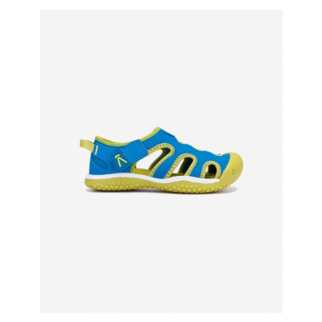 Keen Stingray Kids Sandals Blue Green