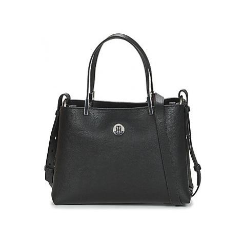 Tommy Hilfiger TH CORE MED SATCHEL women's Handbags in Black