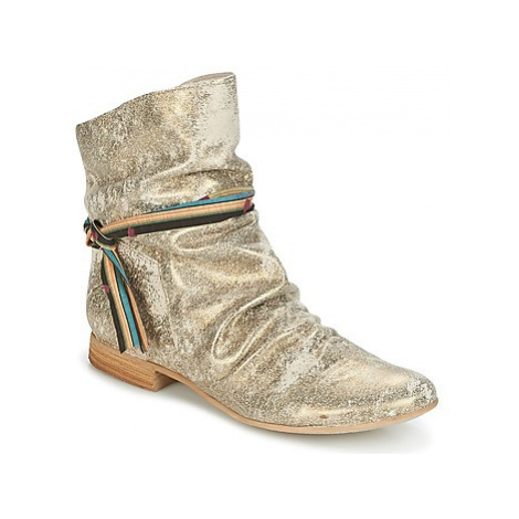 Felmini QUARTZ women's Mid Boots in Gold