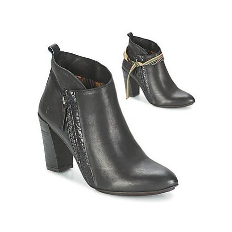 Felmini CASSANDRE women's Low Ankle Boots in Black