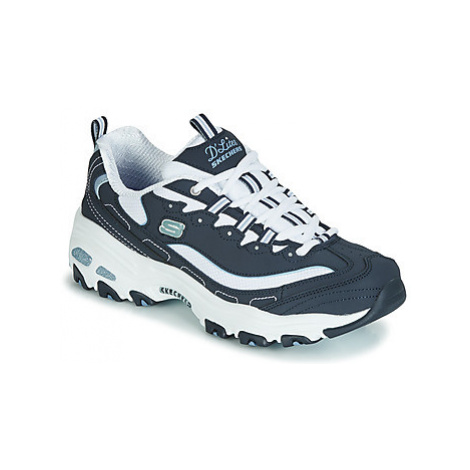 Skechers D'LITES BIGGEST FAN women's Shoes (Trainers) in Blue