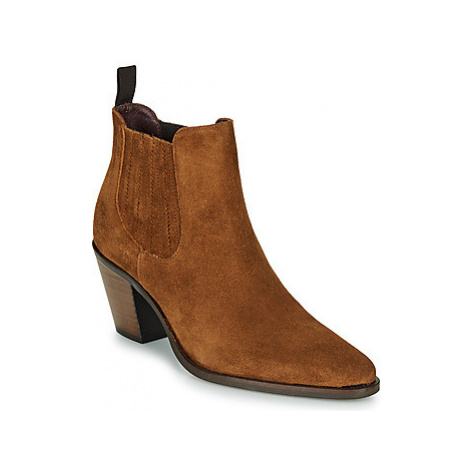 Muratti RESEDA women's Low Ankle Boots in Brown