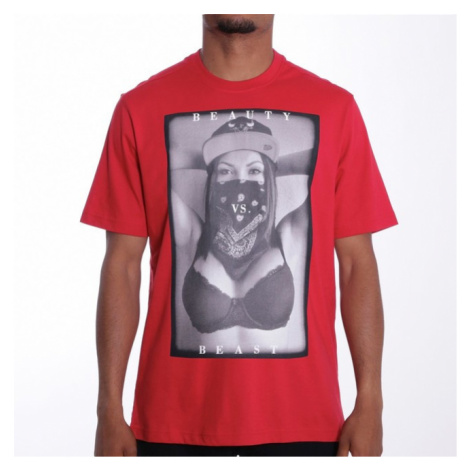 Pelle Pelle Beauty vs. beast t-shirt s/s Red