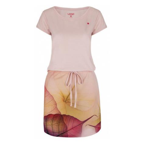 Loap ALYSA pink - Women's sports dress