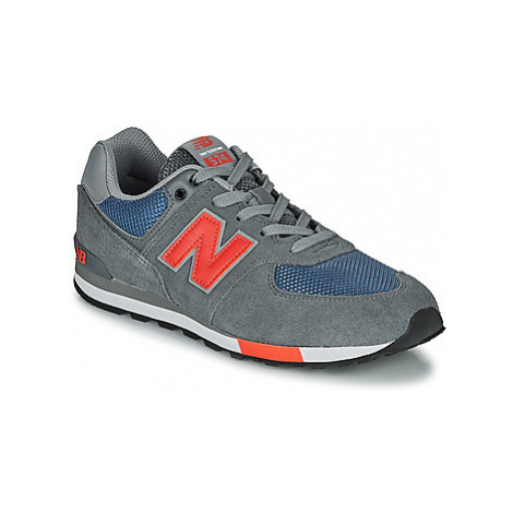 New Balance 574 boys's Children's Shoes (Trainers) in Grey