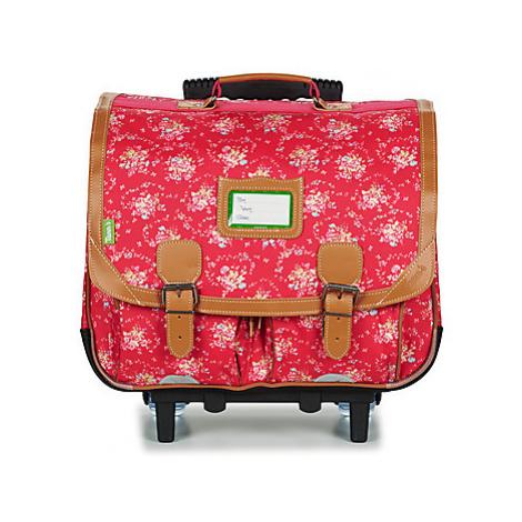 Tann's LONDON TROLLEY CARTABLE 41 CM girls's Children's Rucksack in Red