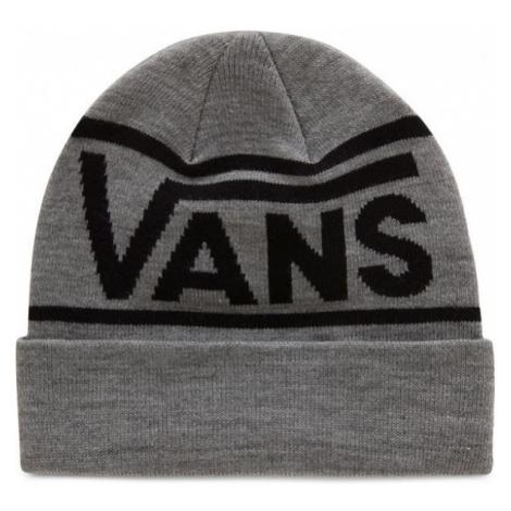Vans MN DROP V STRIPE CUFF BEANIE grey - Men's beanie