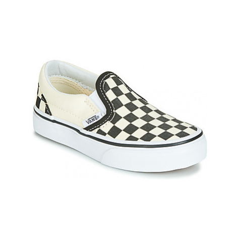 Vans CLASSIC SLIP-ON girls's Children's Slip-ons (Shoes) in Black