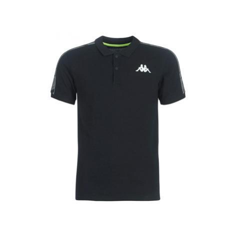 Kappa GASTO men's Polo shirt in Black