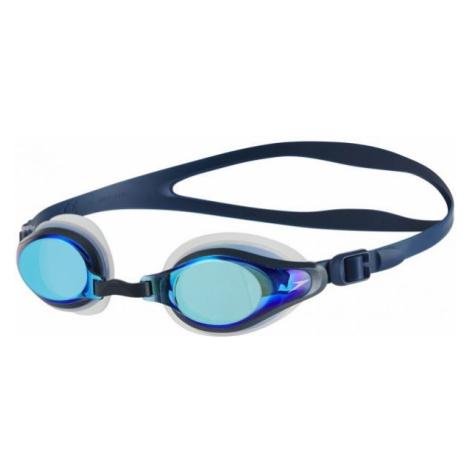 Speedo MARINER SUPREME MIRROR blue - Mirror swimming goggles