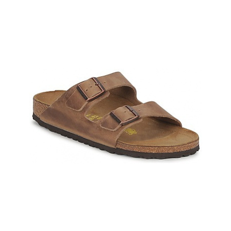 Birkenstock ARIZONA men's Mules / Casual Shoes in Brown